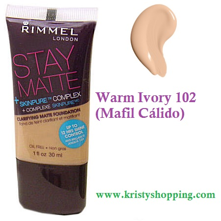 Base Anti-Acné Matte Rimmel London 102
